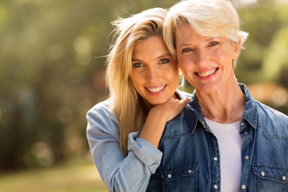 Mor og voksen datter